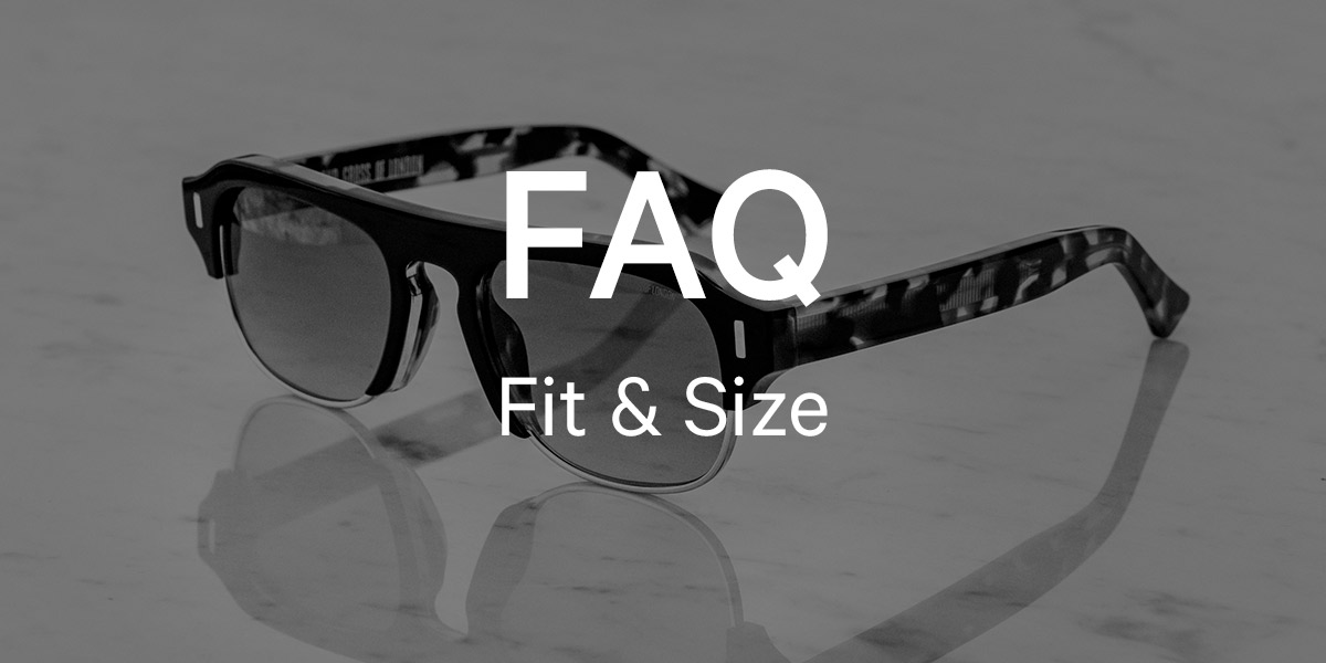 What is a nose bridge? What is the difference between a standard fit frame and an Asian fit?