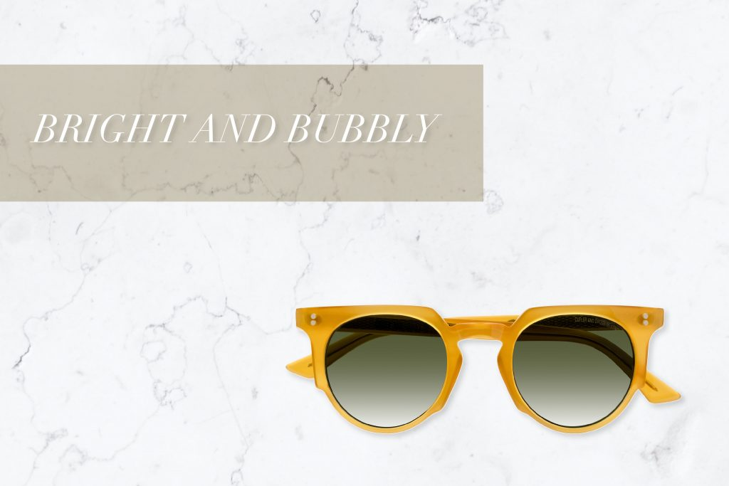 1383 Round Designer Sunglasses by Cutler and Gross